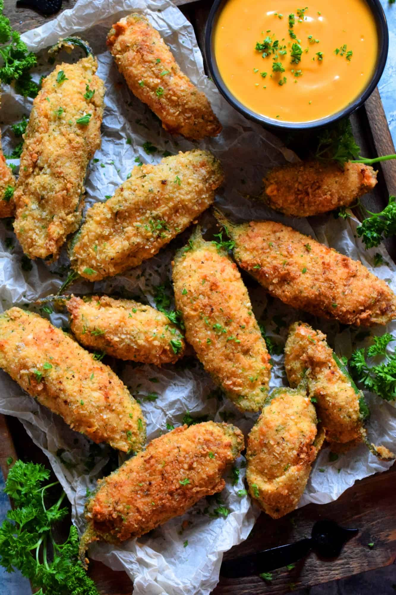 3 Cheese Jalapeno Poppers