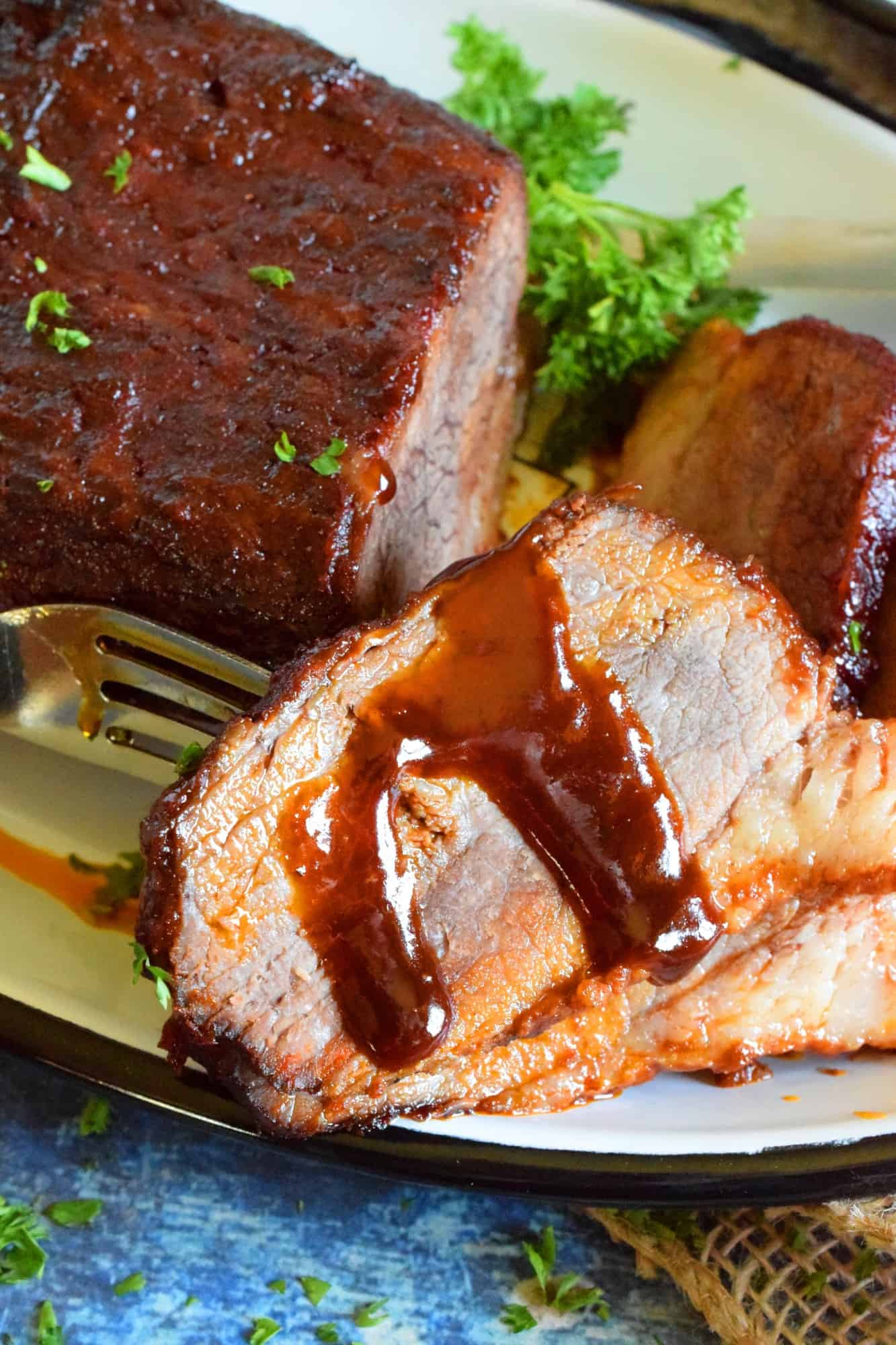 Oven Baked Barbecue Brisket