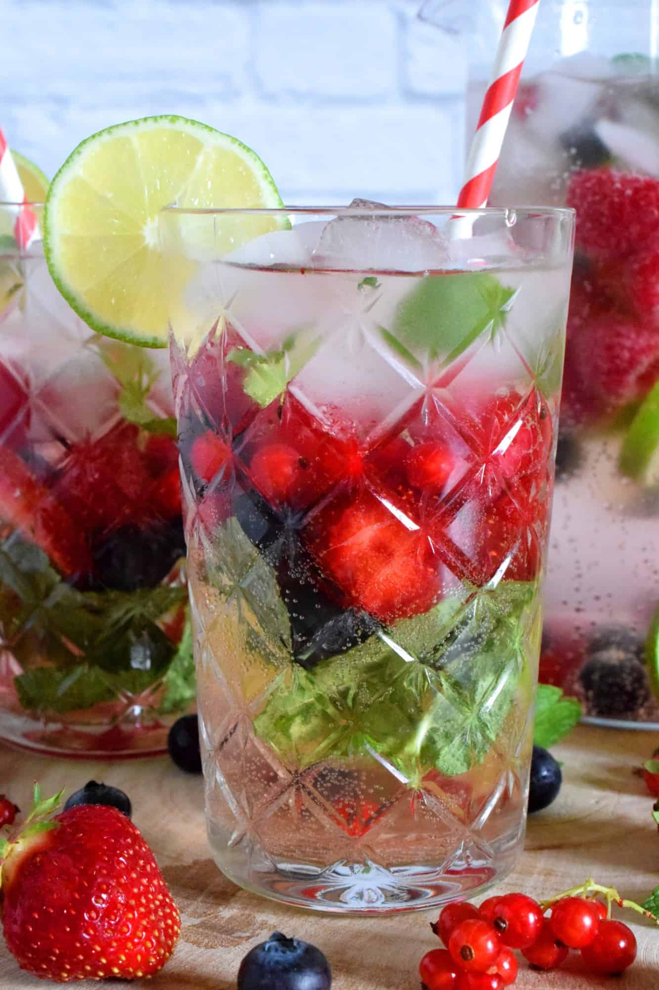 Very Berry Virgin Mojito