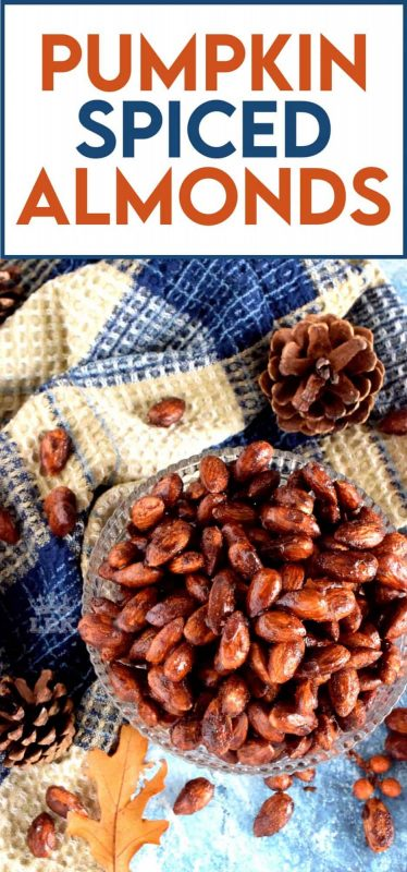 Let's pumpkin spice everything! Why not? It's delicious, and shouldn't be reserved for only lattes and desserts. Snacks, like my Pumpkin Spiced Almonds, can benefit from the flavours as well; don't you agree? #pumpkinspice #pumpkin #spice #almonds #snacks