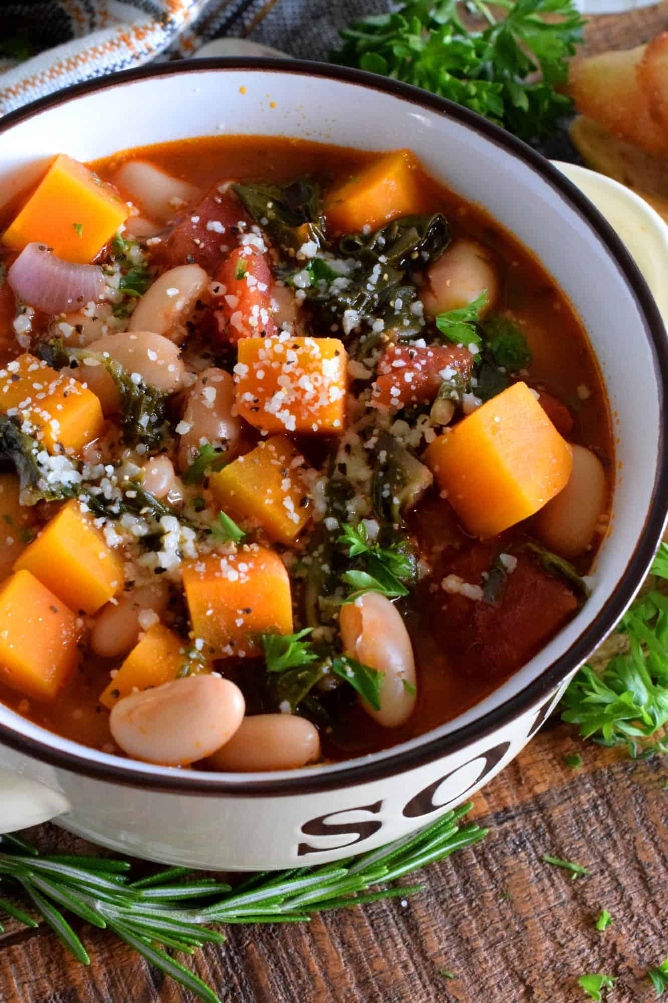 Bean And Vegetable Minestrone