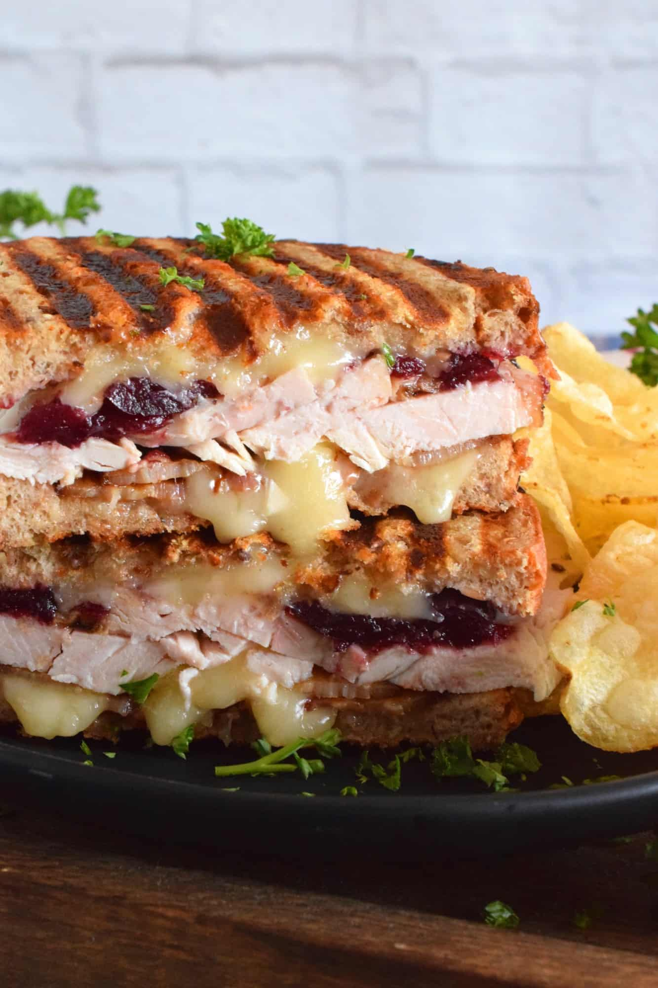 Bacon And Turkey Panini
