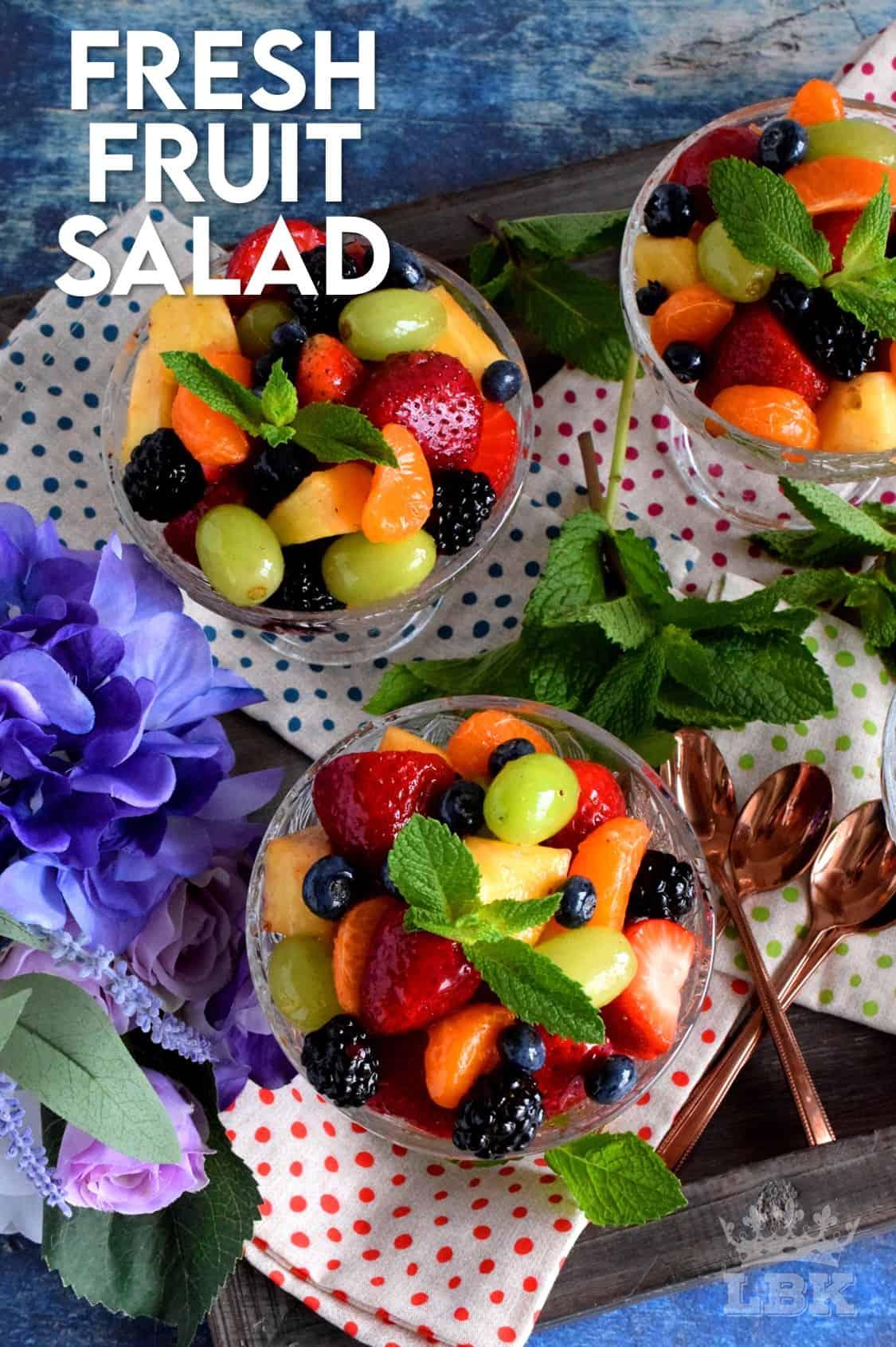 Fresh Fruit Salad Lord Byron S Kitchen