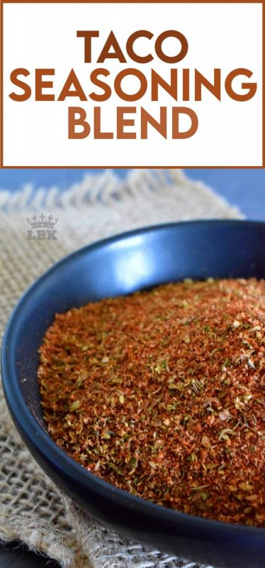 Do yourself a favour; take a few minutes to mix together your own homemade Taco Seasoning Blend. With it on hand, you'll have an endless supply of recipe possibilities! Prepared with what most of us have in our spice racks already, this blend will keep in your pantry for months! #taco #tacoseasoning #seasoningblend #homemade #tacotuesday