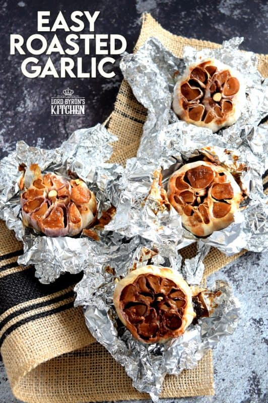 Roast the garlic ahead of time to cut down on the time it takes to make this dish. Roasted Garlic Spaghetti is not for the faint of heart. Garlic lovers rejoice! This dish is for you! Garlic can also be used in dressings or spread on crostini for a great tasting, garlicky appetizer! #garlic #roastedgarlic #garlickypasta #spaghetti #sweetgarlic
