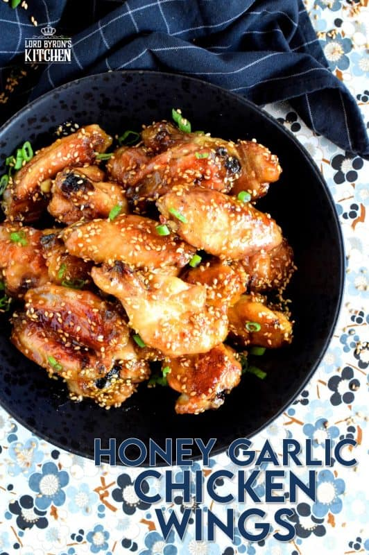 My all-time favourite ingredient combination, which is garlic and honey, transforms the simple chicken wing into something extraordinary! Over twenty year of making chicken wing flavour combinations, and this is still the all-time favourite. And, when it comes to Honey Garlic Chicken Wings, I don't share! #honey #garlic #honeygarlic #chicken #wings #chickenwings
