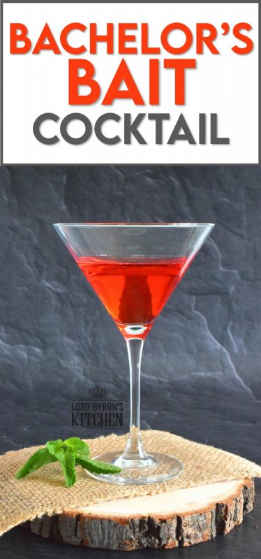 With such an intriguing name, it's no wonder this cocktail has been getting attention since the 1930s. A Bachelor's Bait Cocktail has theories surrounding its origins, but are they just theories? #bachelorbait #bachelors #bait #cocktail #theresalwaystimeforacocktail #gin #grenadine