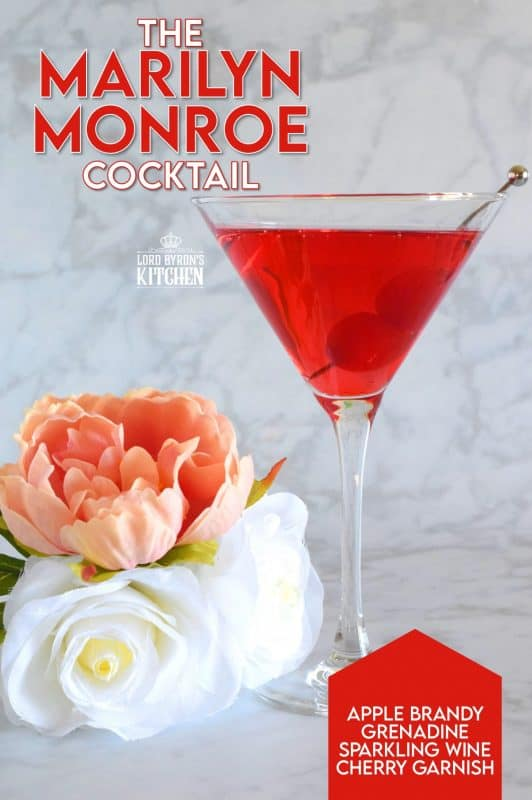 If a cocktail is to be named after the one and only Marilyn Monroe, it has to be vibrant and colourful, sweet and bubbly, and ultimately chic and classy! Serve chilled with a couple of maraschino cherries and be the superstar you were born to be! #marilynmonroe #cocktails #brandy #waldorfastoria