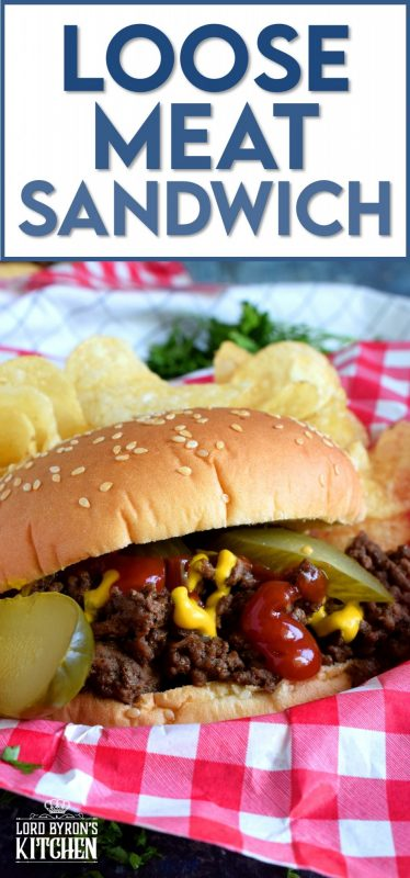Move over Landford Lunch Box! Anyone can make this easy and inexpensive, blast from the past, beef burger alternative. Loose Meat Sandwiches are the perfect no-fuss weeknight dinner solution! #dinner #sandwich #ground #beef #loosemeat