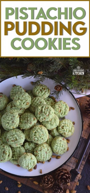 Light and fluffy, soft and moist, Pistachio Pudding Cookies are a cookie-lover's dream; and they're green too so they're perfect for the holidays! Plus, they're made with cream cheese, so you know they'll stay soft and moist! #pistachio #pudding #cookies #christmas #holiday #baking #green