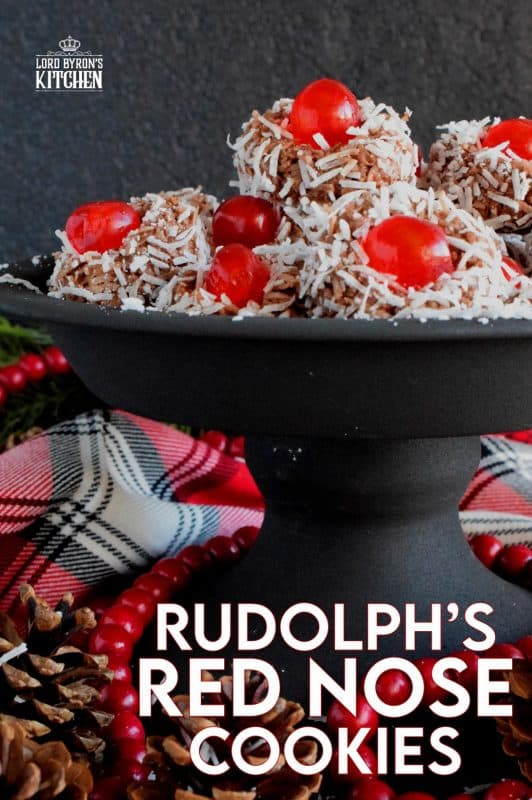 Santa Claus is coming to town and he's going to need Rudolph's Red Nose to guide his sleigh! Let's kick off my new 24 Cookies of Christmas countdown with Rudolph's Red Nose Cookies! #rudolph #reindeer #cookies #christmas #holiday #baking #advent #countdown